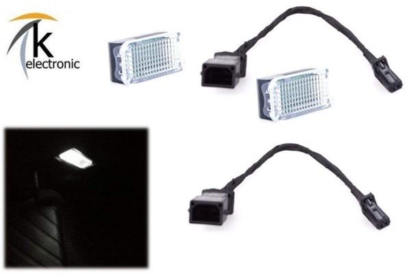 AUDI R8 I 42 43 Fußraumbeleuchtung vorne / Front Halogen - LED Umbaupaket