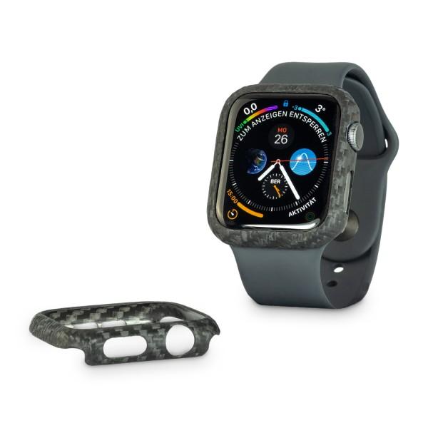Echt-Carbon Cover für Apple Watch 5 (44mm Version)