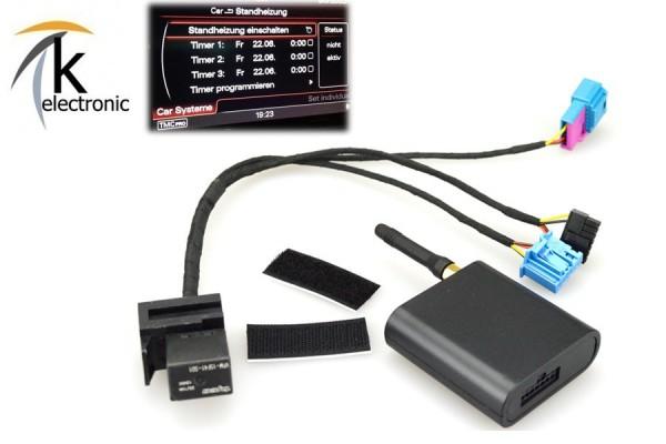 AUDI A7 4G GSM Modul für Standheizung / Fernbedienung per Handy APP