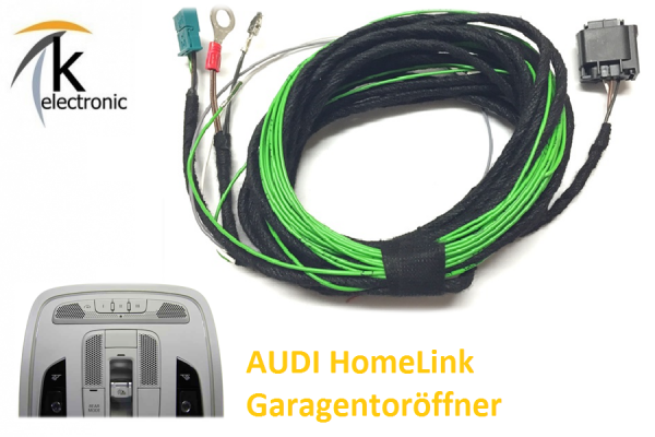 AUDI A7 4G Home Link Garagentoröffnung / Kabelsatz