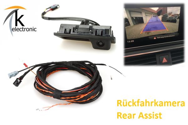 AUDI A5 F3 B9 Rückfahrkamera / Rear View Nachrüstpaket