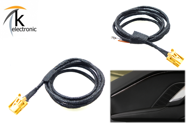 AUDI TT 8S Ambientebeleuchtung LED Türe Kabelsatz