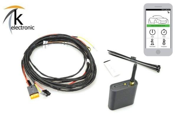 AUDI Q7 4L Standheizung Aufrüstpaket Zuheizer Standheizung