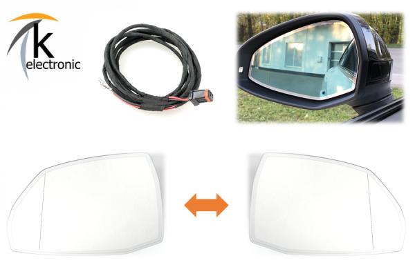 AUDI Q5 FY automatisch abblendbare Außenspiegel Nachrüstpaket