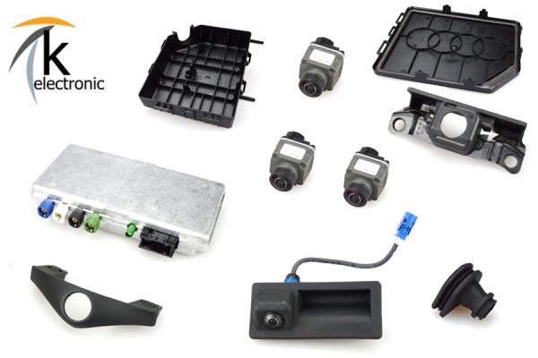 AUDI A7 4G Umfeldkamera / Top View / Area View Kabelsatz Nachrüstpaket