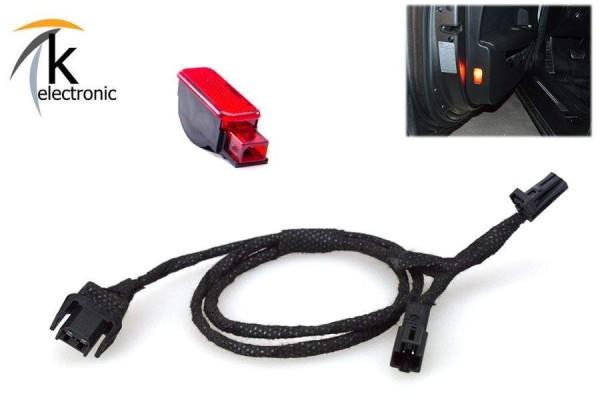 AUDI A7 4K Türwarnleuchte Rückstrahler rot Nachrüstpaket