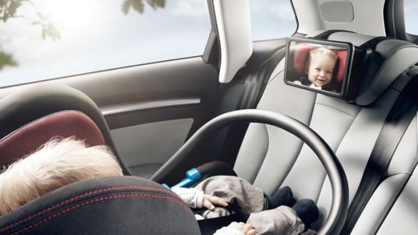 Audi Babyspiegel für Befestigung an Rückbank