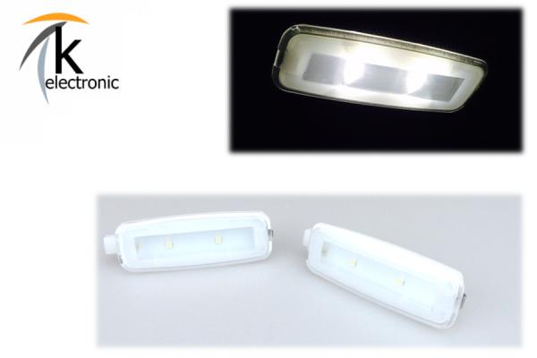 AUDI LED Make-Up Spiegel Umbaupaket