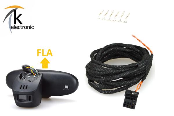 AUDI R8 I 42 43 Fernlichtassistent FLA Kabelsatz 6pol8pol mit FLA