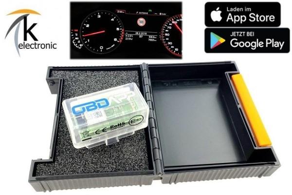 AUDI A6 4G C7 Verkehrszeichenerkennung VZE Tempolimitanzeige im Tacho Nachrüstpaket