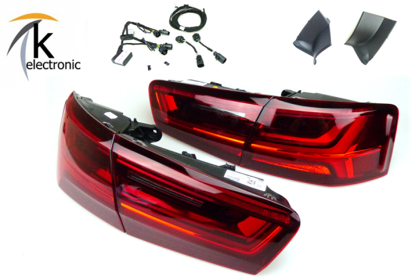 AUDI A6 4G Limousine Facelift LED-Heckleuchten dynamischer Blinker Nachrüstpaket