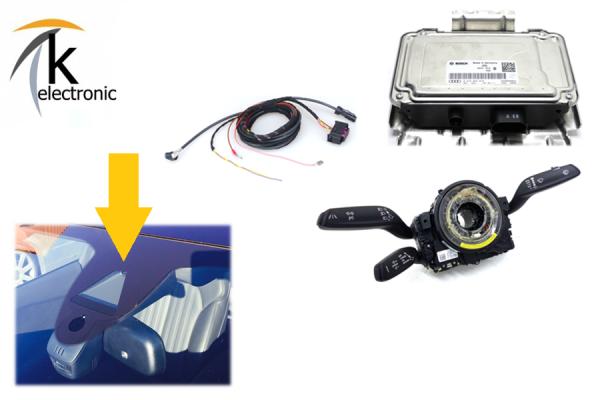 AUDI A7 4G active lane assist + Verkehrszeichenerkennung Nachrüstpaket