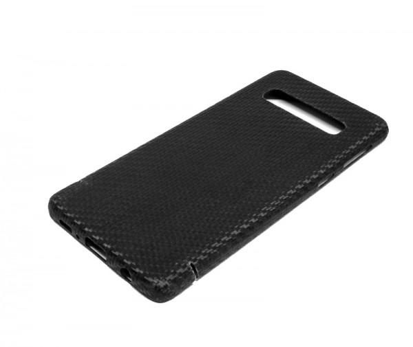 Echt-Carbon Cover für Samsung Galaxy S10