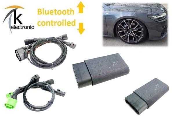 AUDI A8 4N D5 Luftfahrwerk Tieferlegung per Bluetooth APP active suspension control