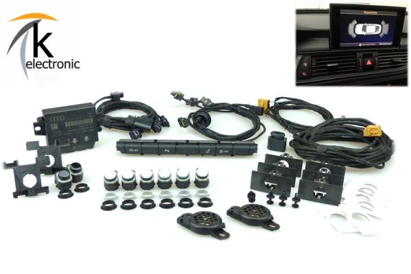 AUDI A6 4G Einparkhilfe Front + Heck APS+ Nachrüstpaket