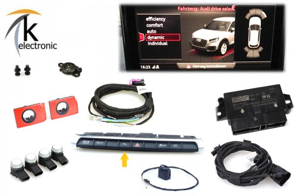 AUDI Q2 GA Einparkhilfe APS+ Front / PDC vorne mit OPS Nachrüstpaket