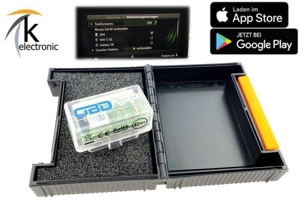 AUDI A4 B9 8W Telefonieren mit SIM Karte phone box freischalten Nachrüstpaket