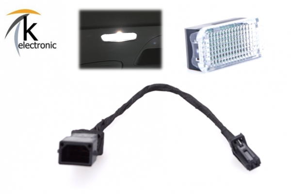 AUDI A4 8K B8 Kofferraumbeleuchtung Halogen -> LED-Umbaupaket