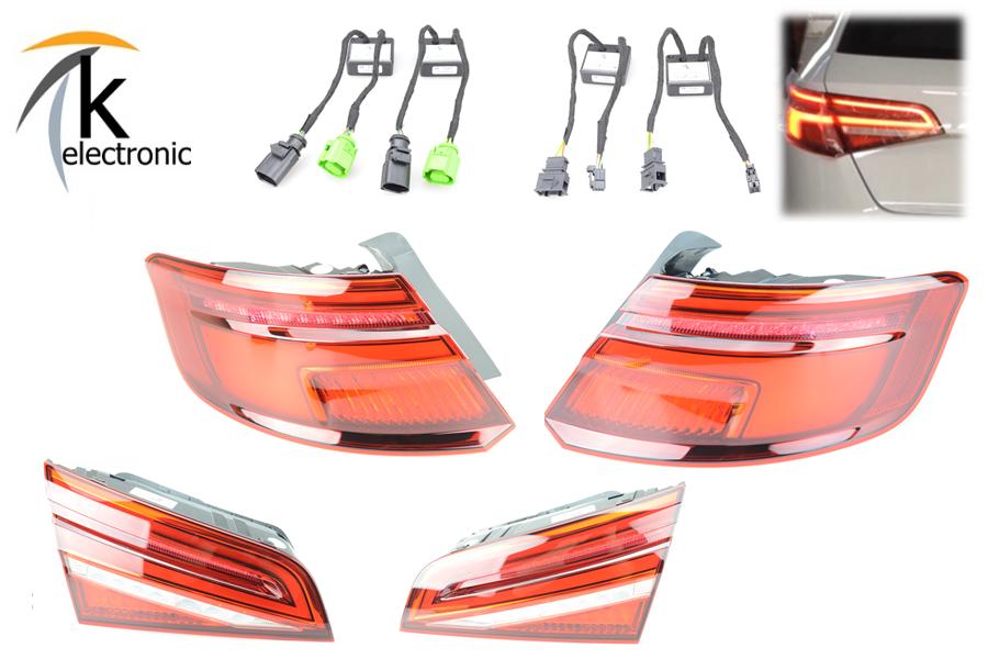 Adapter auf LED Facelift Rückleuchten dynamischer Blinker für Audi A7 S7 2011