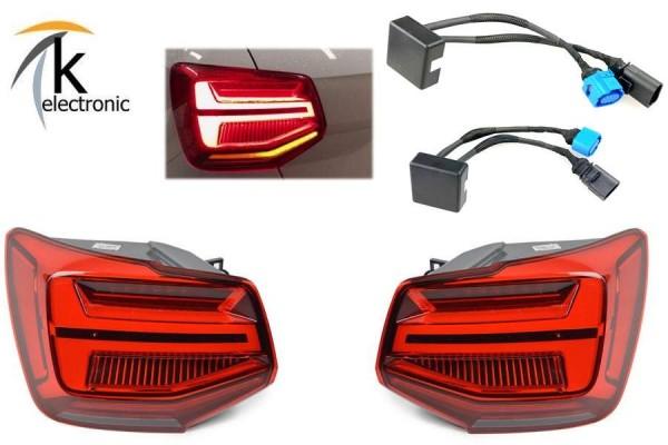 AUDI Q2 GA LED-Heckleuchten Rückleuchten dynamischer Blinker Nachrüstpaket