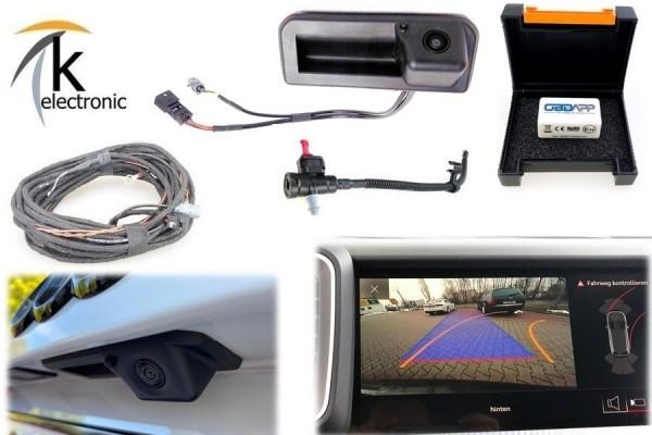 AUDI A1 GB Rückfahrkamera Nachrüstpaket mit Reinigungsfunktion