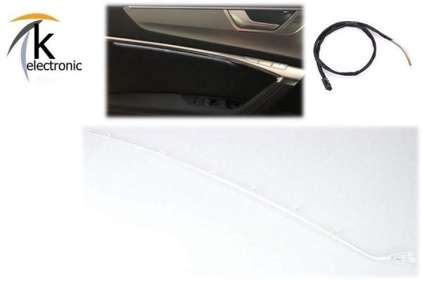 AUDI A6 4A C8 Ambientebeleuchtung Lichtpaket LED für Türe Nachrüstpaket