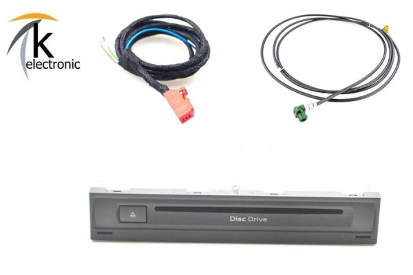 AUDI A8 4N DVD-CD Laufwerk / Player im Handschuhfach Nachrüstpaket