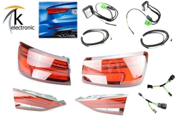 AUDI A3 8V Halogen auf Facelift LED-Rückleuchten dynamischer Blinker Limousine Nachrüstpaket