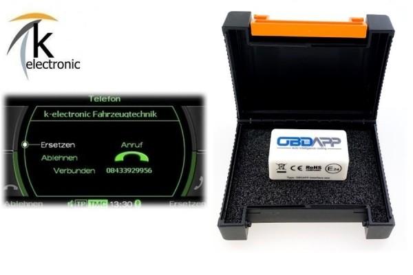 AUDI Q5 8R Bluetooth Telefon Freisprecheinrichtung MMI3G/3G+ freischalten Nachrüstpaket