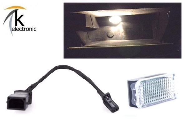 AUDI R8 I 42 43 Handschuhfachbeleuchtung Halogen - LED-Umbaupaket