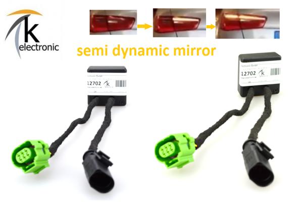 AUDI A5 8T 8F semi dynamische Blinker Laufblinker / Zusatzmodule