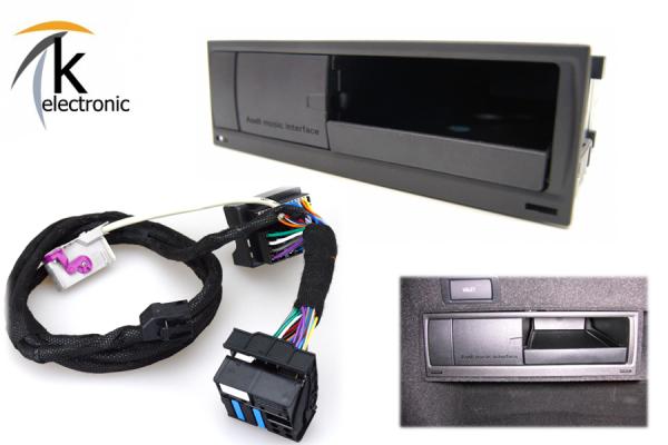 AUDI TT 8J AMI Interface Nachrüstpaket