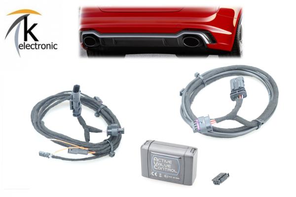 AUDI RS4 B9 8W Auspuff-/Abgas- Klappensteuerung per drive select AVC
