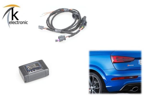 AUDI RSQ3 8U Auspuff-/Abgas- Klappensteuerung per drive select AVC