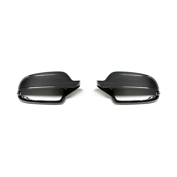 Audi RS4 Außenspiegelgehäuse Carbon ohne Side Assist Vorbereitung (Set)