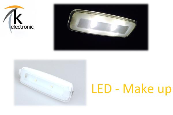 AUDI A7 4G LED Make-Up Spiegel Umbaupaket