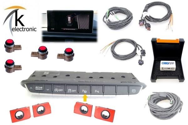 AUDI A4 B9 8W Parklenkassistent PLA automatisches Einparken Nachrüstpaket