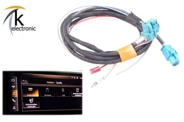 AUDI A7 4K DVD-CD Laufwerk Player im Handschuhfach Kabelsatz
