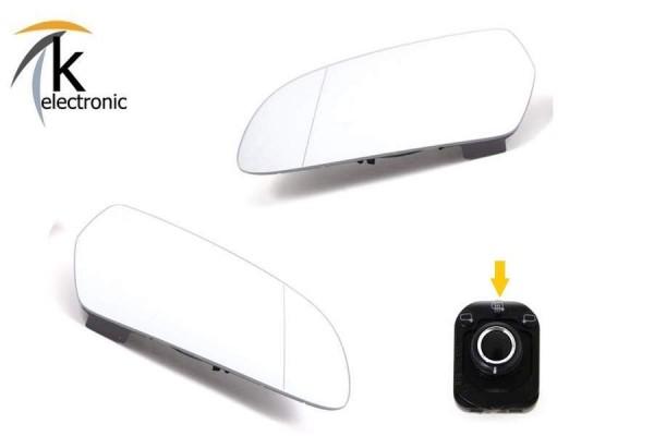 AUDI A3 8P 8PA Spiegelheizung beheizbare Spiegelgläser Nachrüstpaket