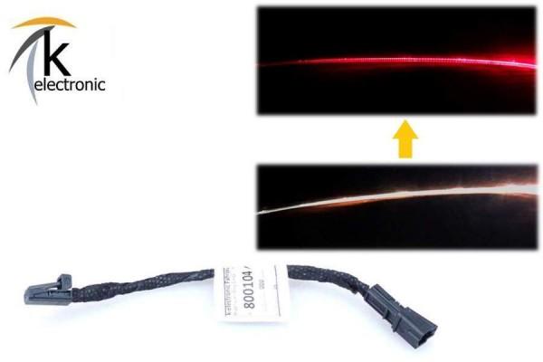 AUDI A6 4G Ambientebeleuchtung Tür Mittelkonsole weiß auf ROT beleuchtet Umrüstpaket