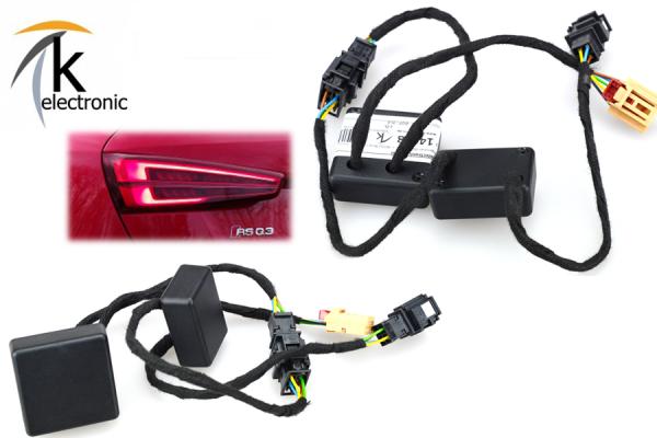 AUDI Q3 8U LED-Heckleuchten Facelift->Facelift dynamischer Blinker Anschlusspaket