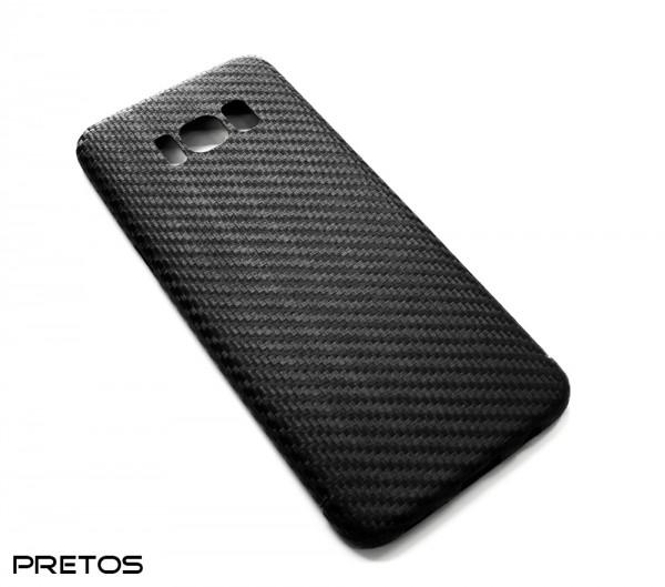 Echt-Carbon Handy Cover für Samsung Galaxy S8