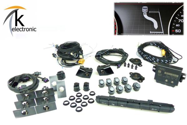 AUDI A7 4G Einparkhilfe PLA + APS+ Nachrüstpaket