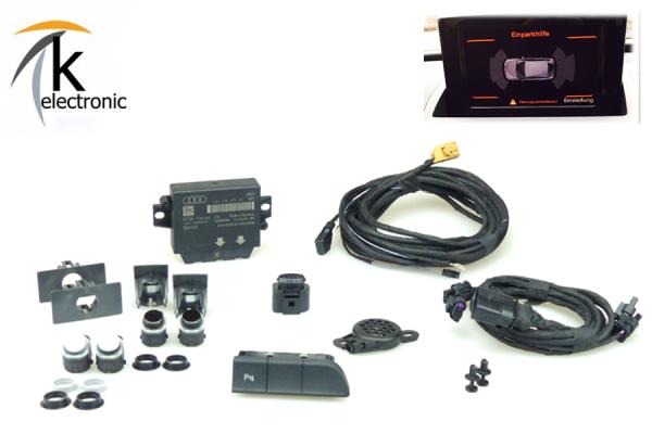 AUDI Q3 8U Einparkhilfe Front APS+ / PDC vorne Nachrüstpaket