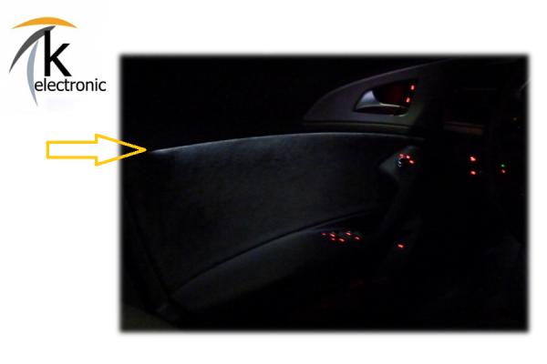 AUDI A6 4G Ambientebeleuchtung Türe Nachrüstpaket