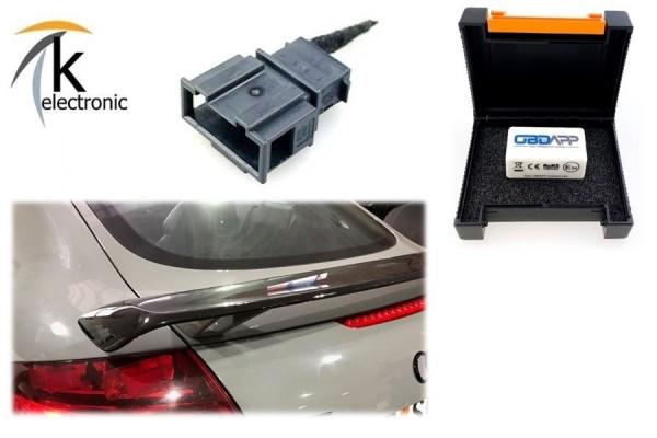 AUDI TT 8J Heckspoiler Deaktivier-Adapter elektrischer Spoiler auf festen RS Spoiler