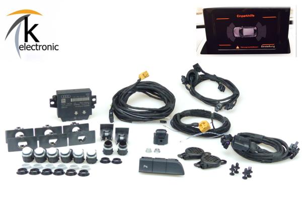 AUDI Q3 8U Einparkhilfe Front + Heck APS+ / PDC vorne + hinten Nachrüstpaket