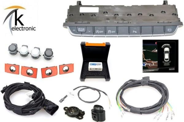 AUDI A4 B9 8W Einparkhilfe vorne mit optischer Darstellung Nachrüstpaket