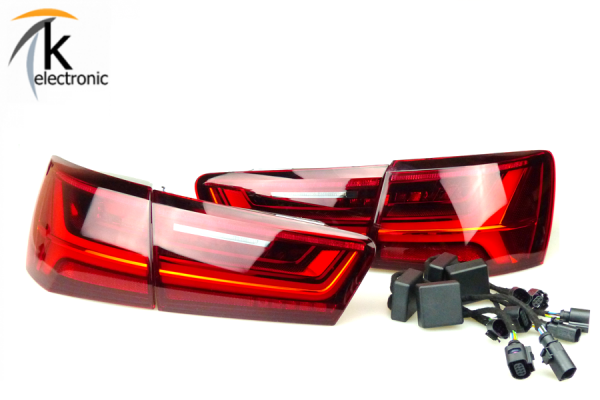 AUDI A6 4G Avant Facelift LED-Heckleuchten dynamischer Blinker Nachrüstpaket