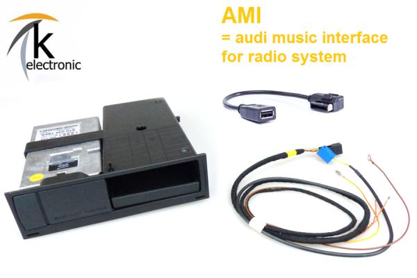AUDI Q5 8R AMI audi music interface Nachrüstpaket / Radio CAN Concert Symphony